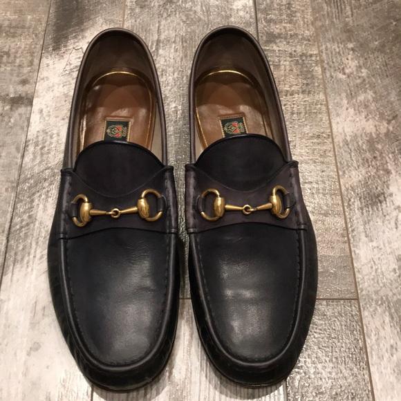98835e5de68 Loafers Leather 75 Poshmark Gucci Shoes Mens qPTcta